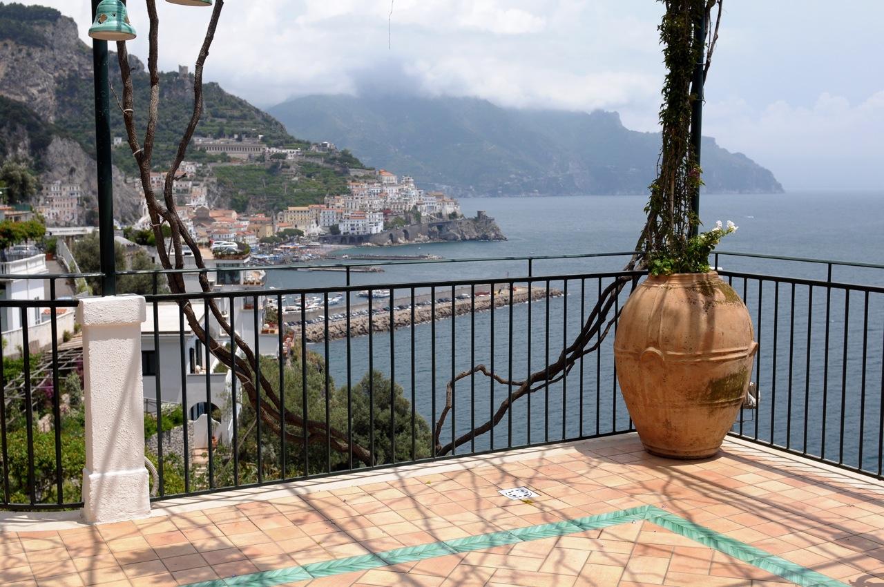 池田先生お気に入りの場所 南イタリア・アマルフィ