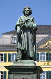 ベートーベンの銅像
